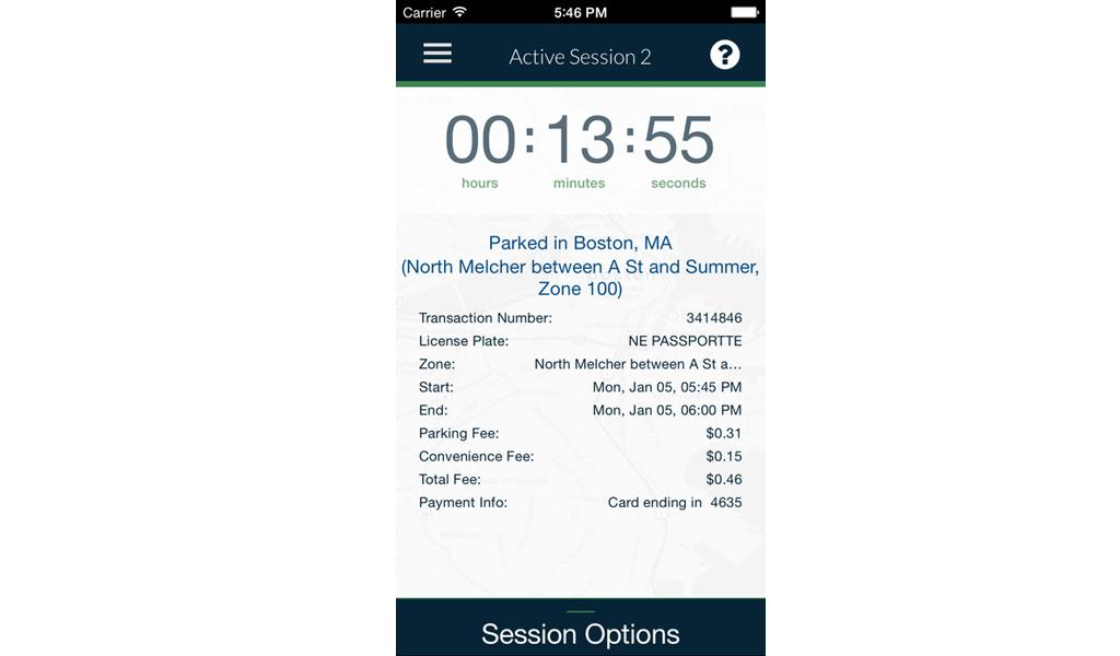 Boston - Park App