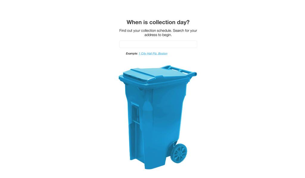 Boston - Trash App