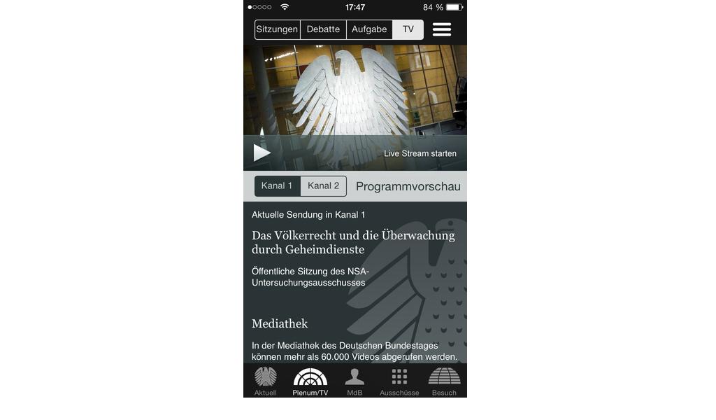 Bundestag - App 3