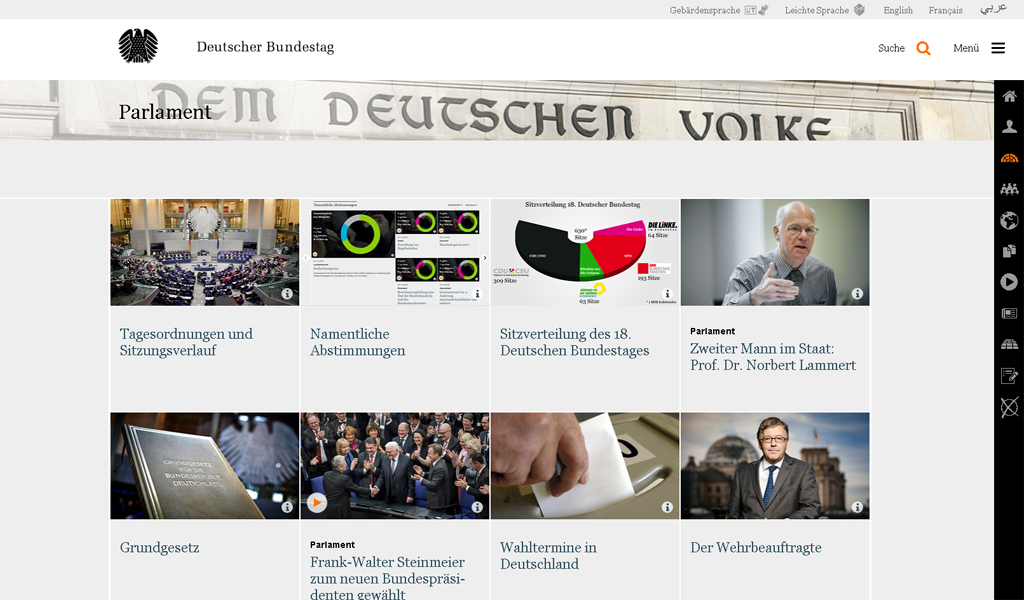 Bundestag - Parlament