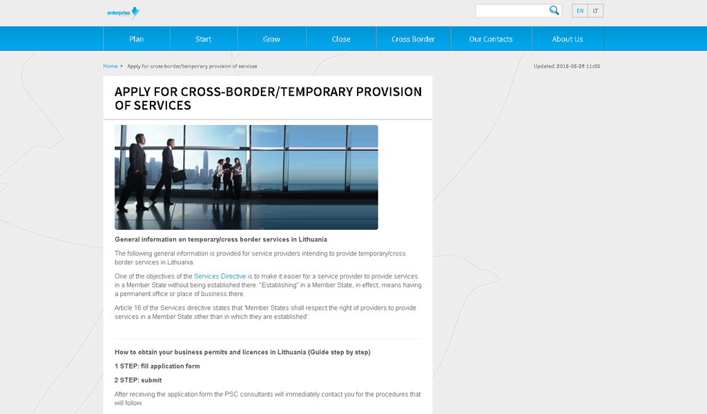 Business Gateway - Borders