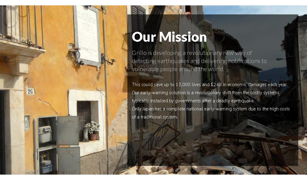 Grillo - Mission