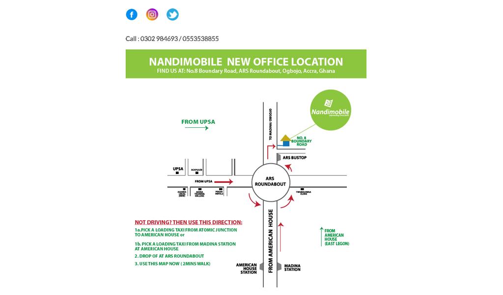 Nandimobile - Contact