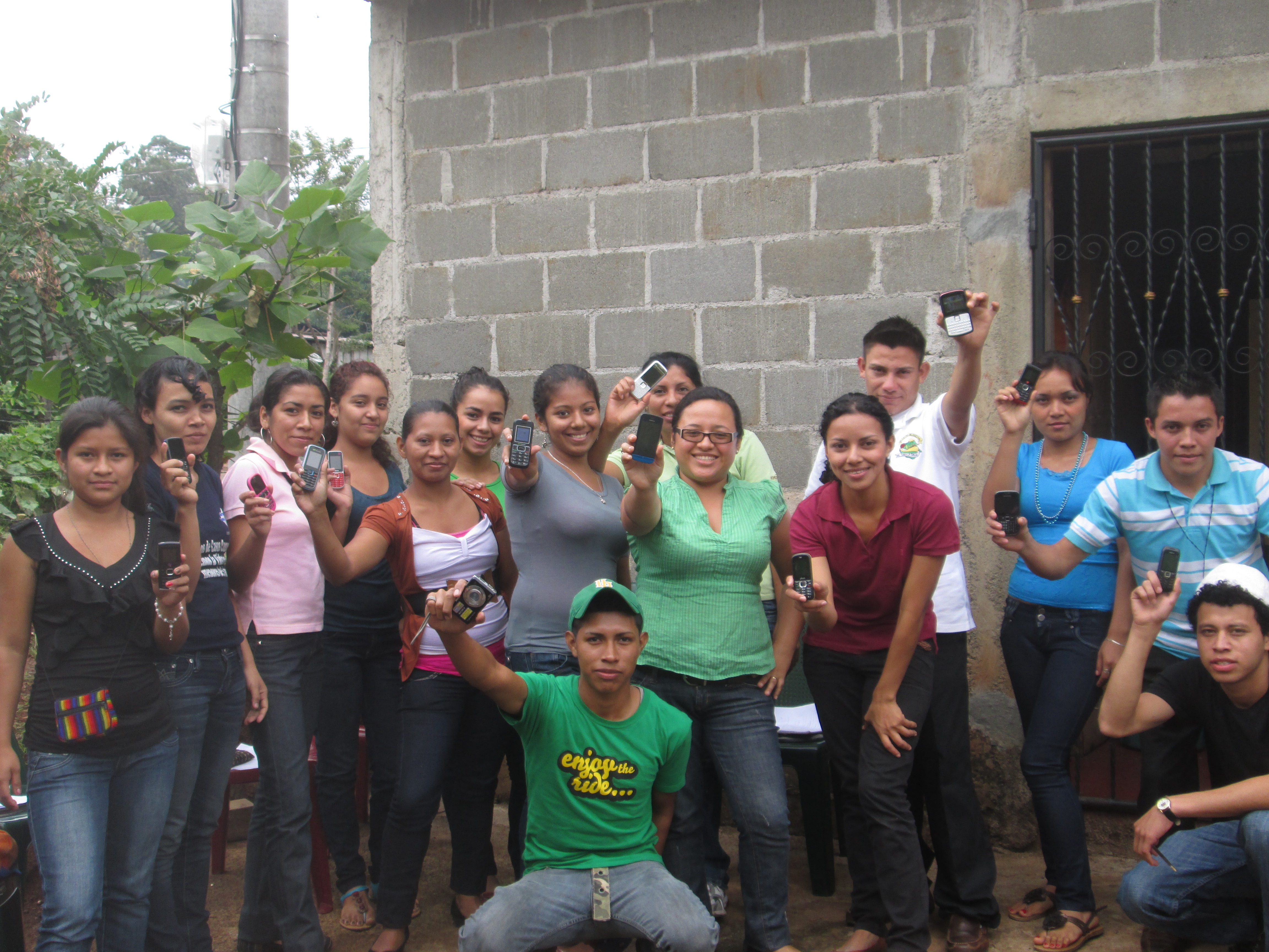 Nicaraguan youth group ready for ChatSalud 2