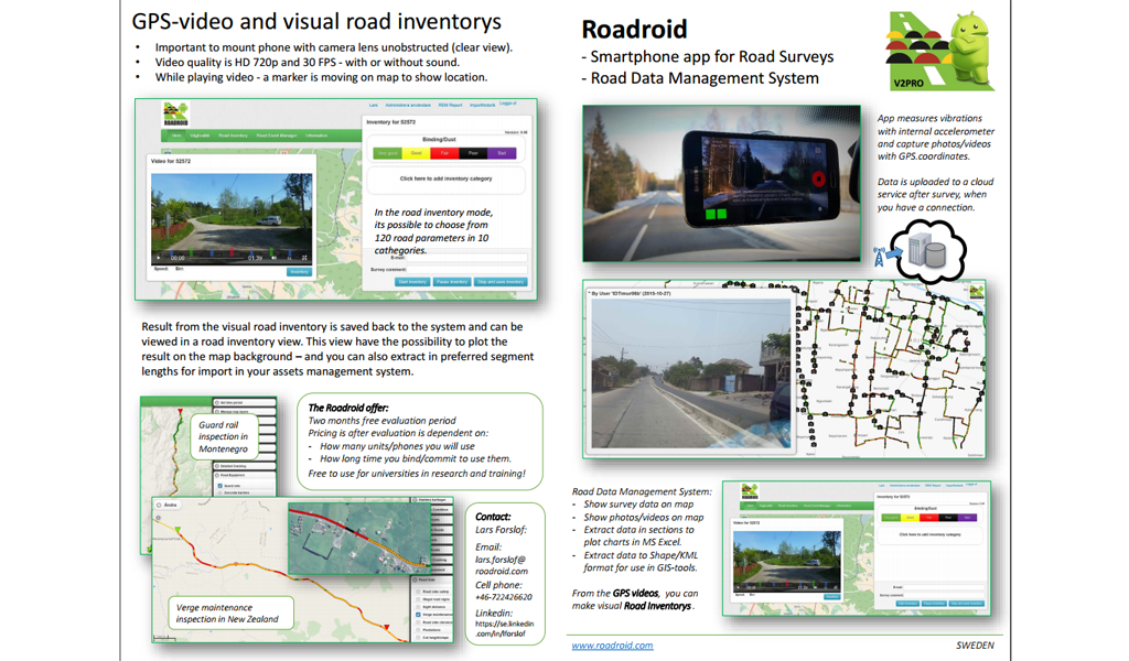 Roadroid - Info