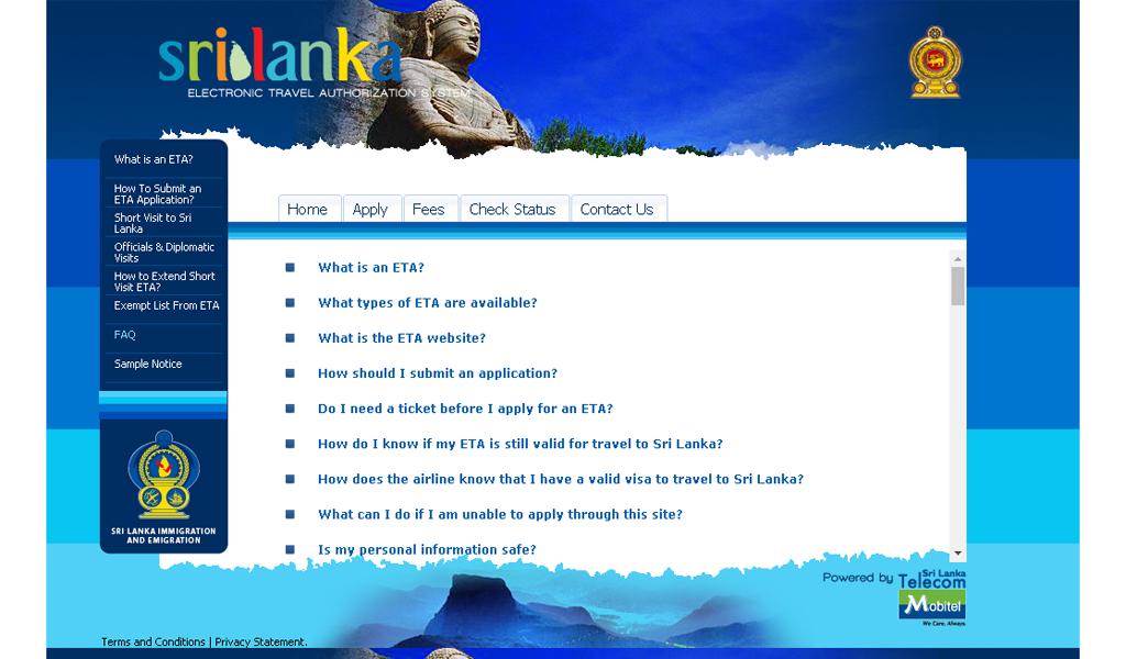 SriLanka IBMS - FAQ