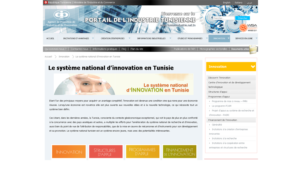 Tunisia - Innovation