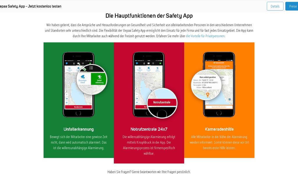 Uepaa - Apps