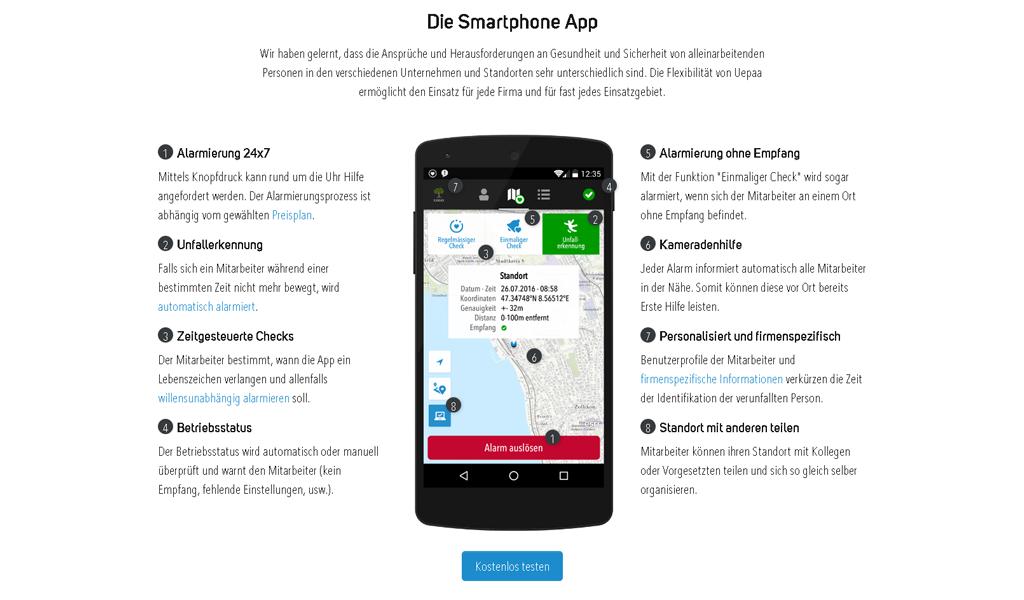 Uepaa - smartphone