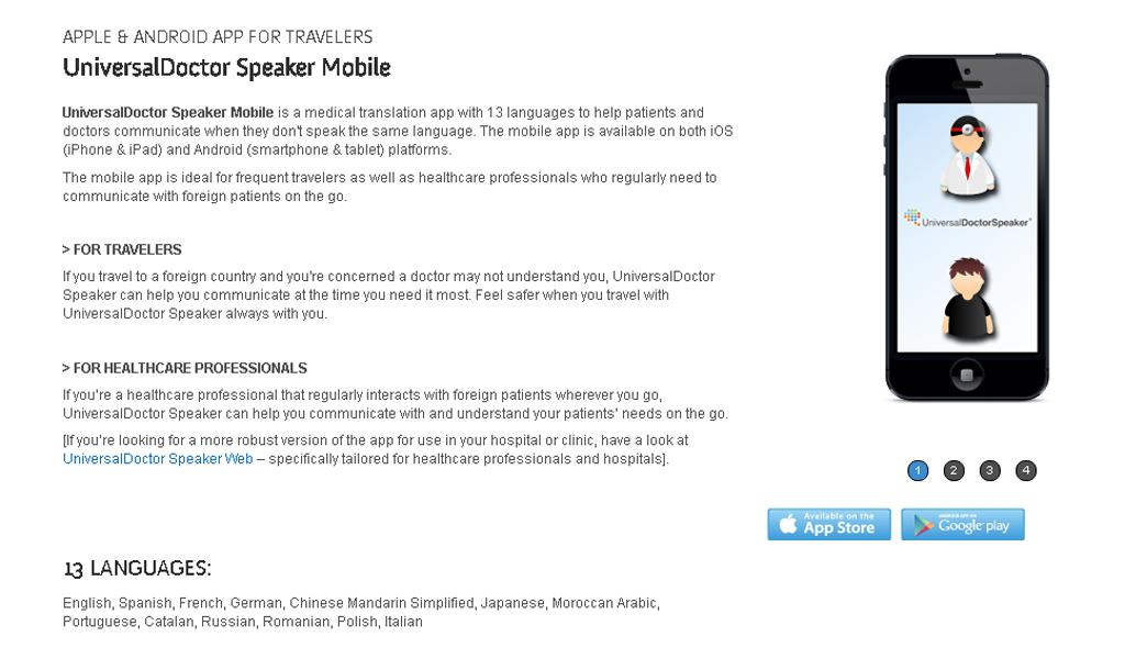 UniversalDoctor - Mobile