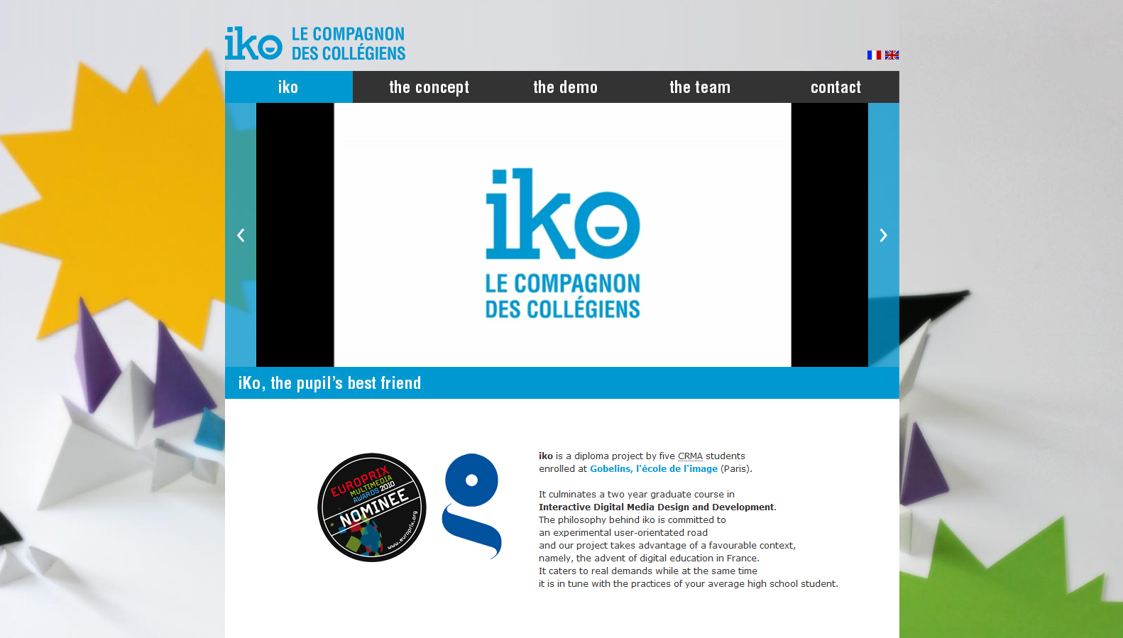 iko-website-screenshot-1