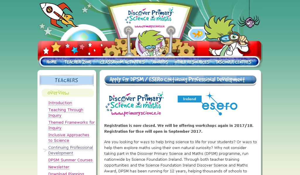 Primary science - Teachers