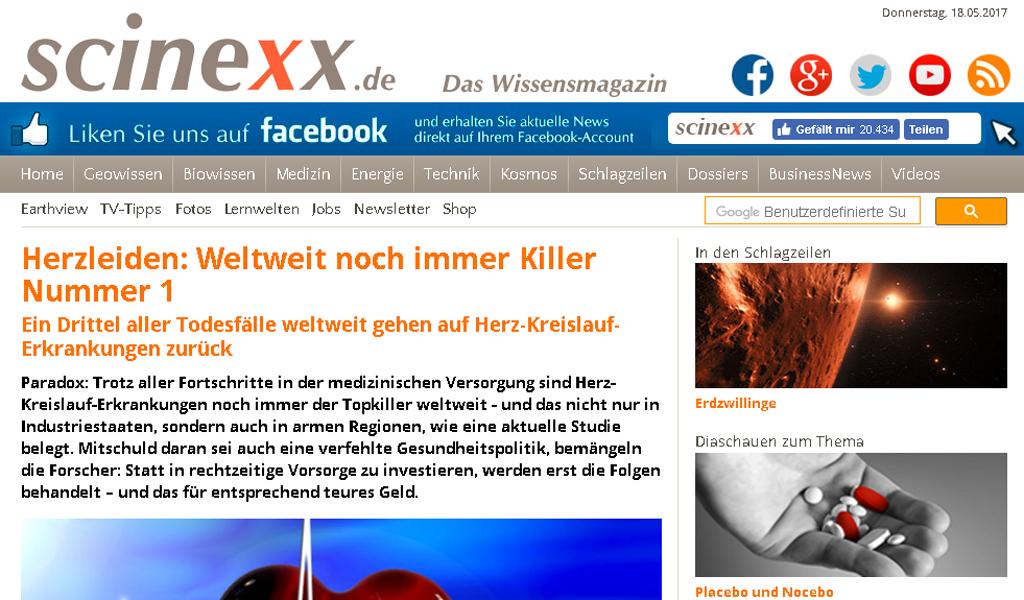 Scinexx - Article
