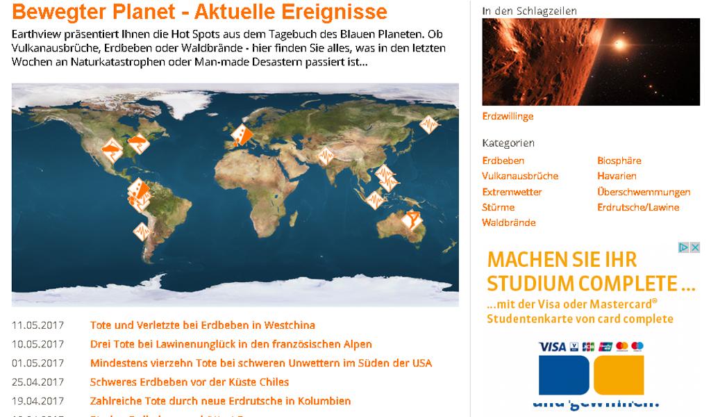 Scinexx - Map