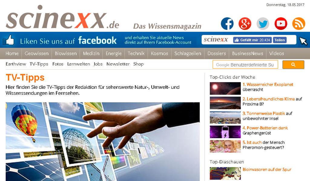 Scinexx - TV
