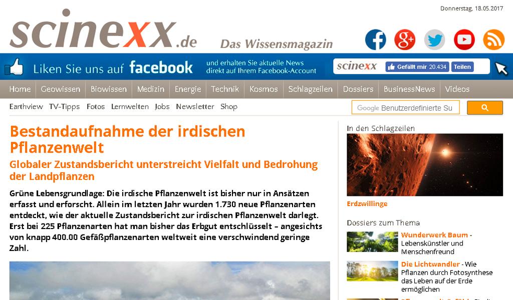 Scinexx - Text