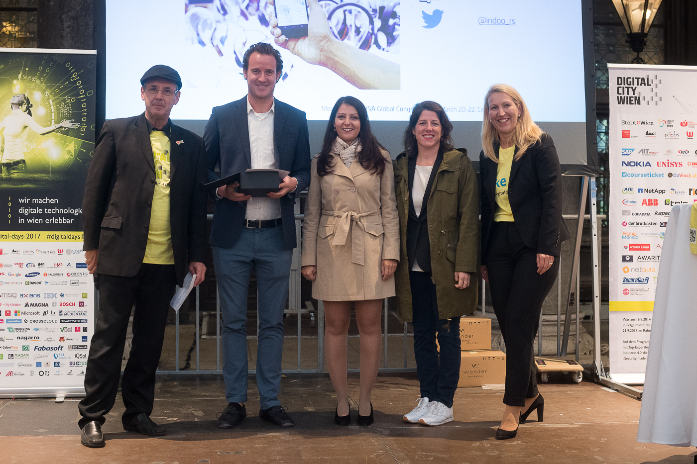 WSA AUSTRIA AWARD CEREMONY AT DIGITAL DAYS 2017