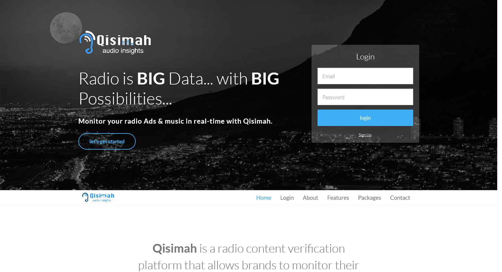Qisimah - Website