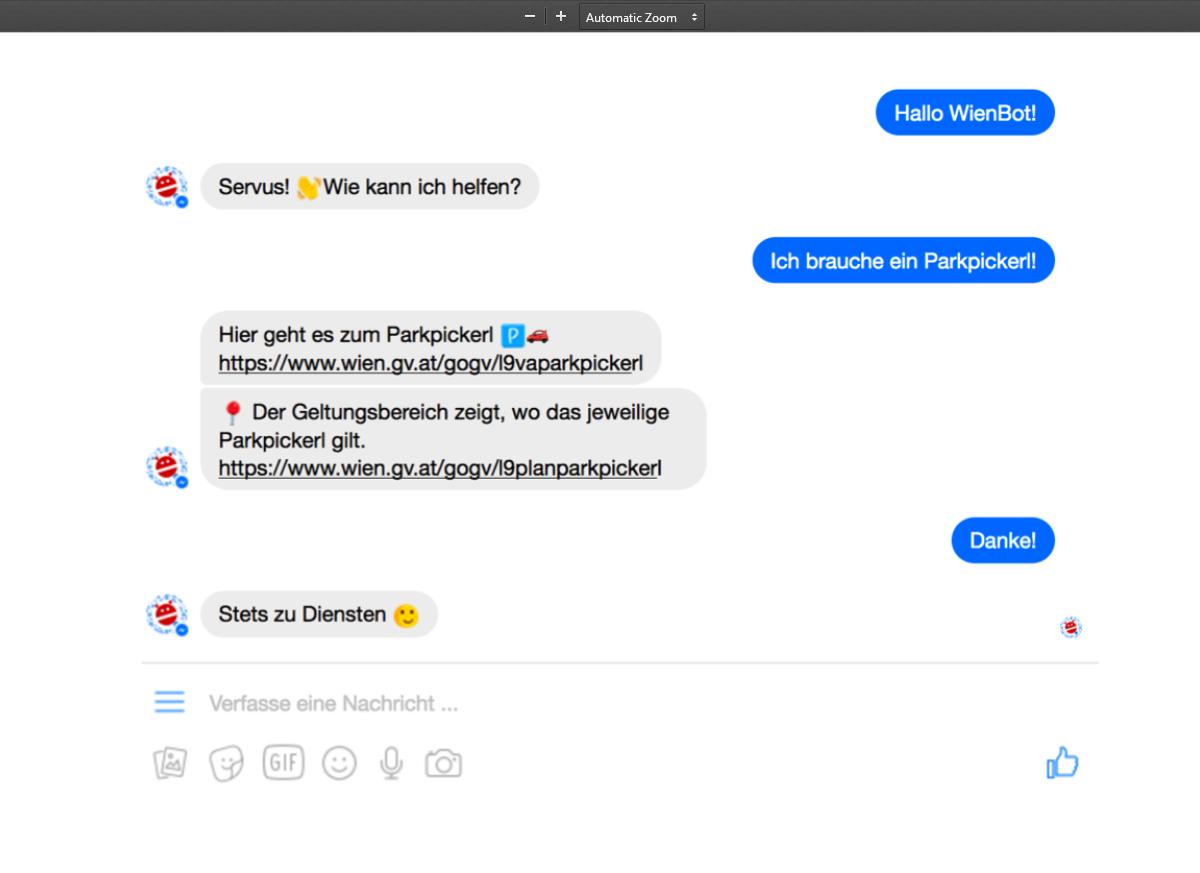 WienBot - App 1