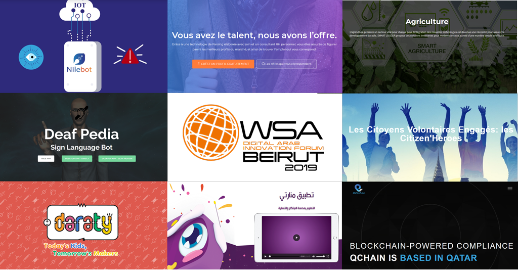 THE BEST IN ARAB DIGITAL CONTENT 2019