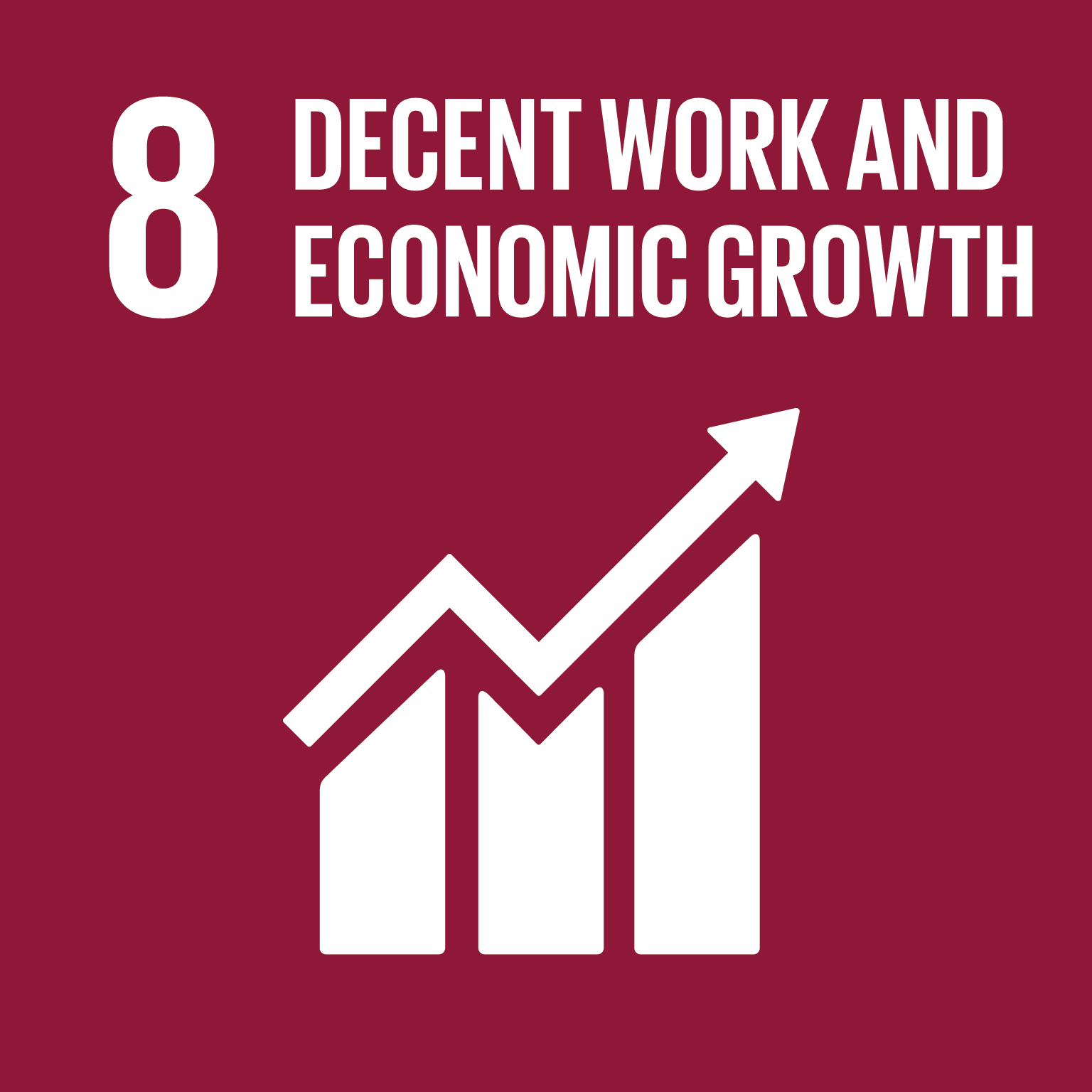 08 Decent work and economic growth